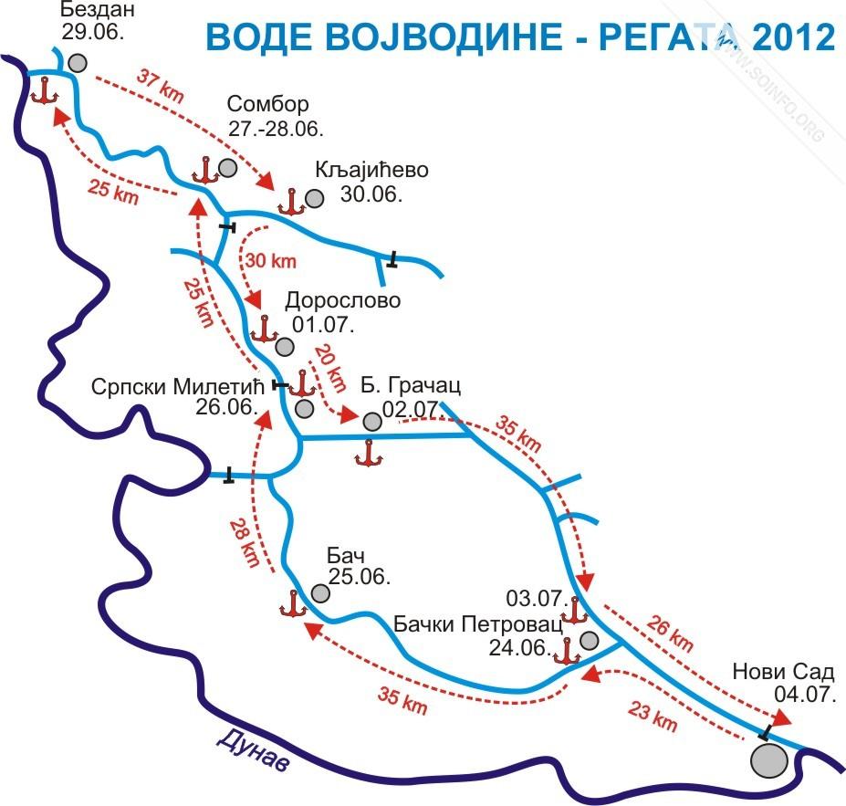 vode vojvodine mapa SOinfo.– Sombor 24/7   Vesti vode vojvodine mapa