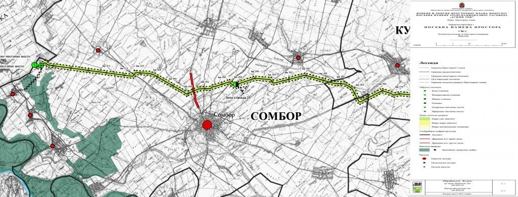 "mapa sombora SOinfo.– Sombor 24/7   Vest   ""Južni tok"" na javnom uvidu mapa sombora"