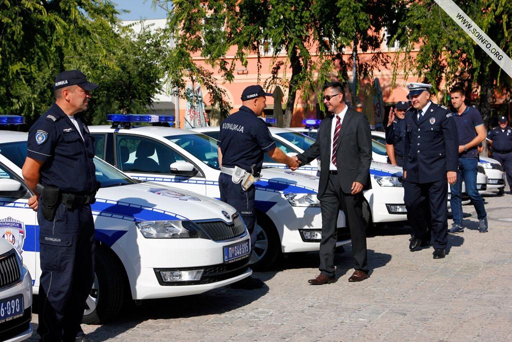 Nova vozila za Policijsku upravu u Somboru - 1