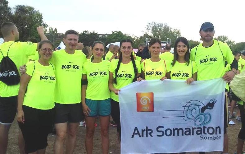 Ekipa ARK Somaraton - Beograd 10K