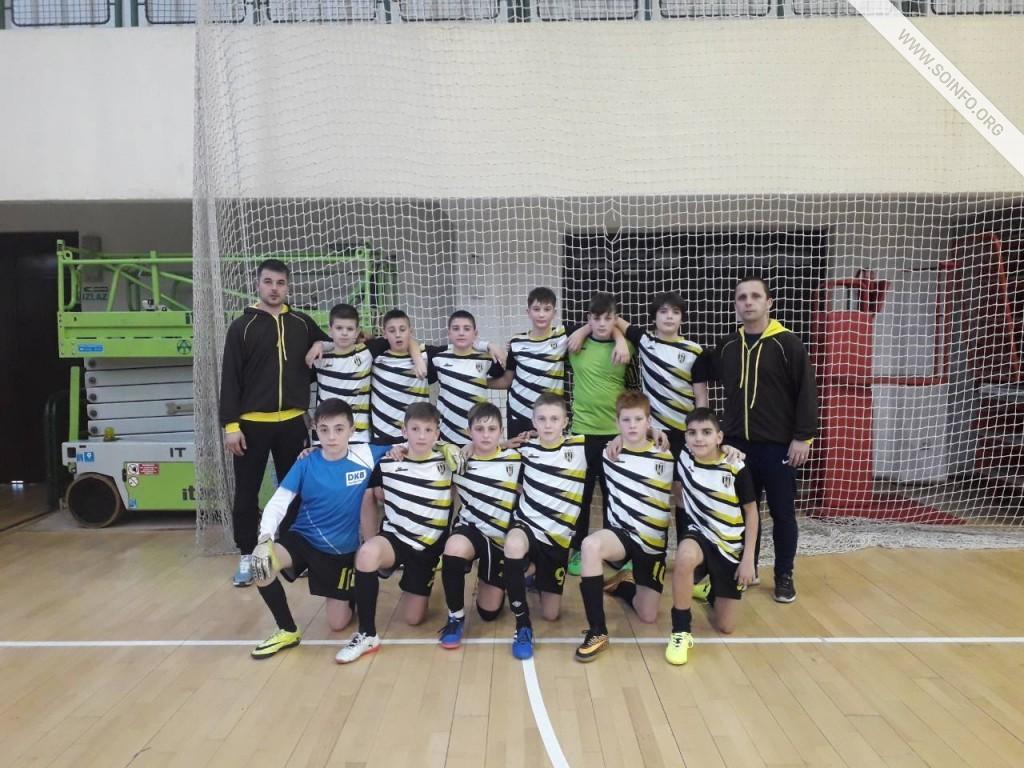 Ekipa FK Žak Sombor na futsal Prvenstvu države za generaciju  2006.  godište