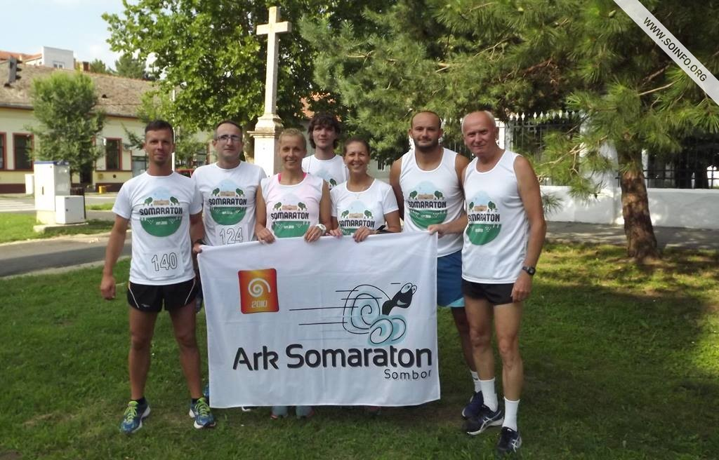 Ekipa ARK Somaraton na Petrovdanskom mini maratonu