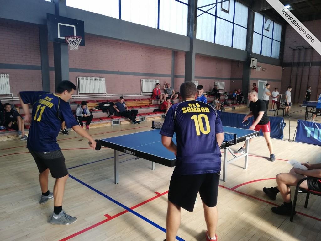 Školsko prvenstvo grada u stonom tenisu - detalj