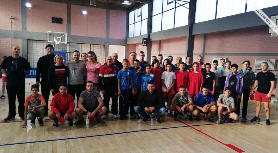 Školsko prvenstvo grada u stonom tenisu - učesnici