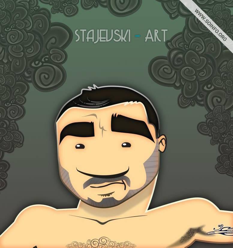 Karikatura - Staiewsky Art - Boris Stajevski