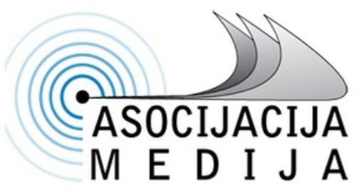 Asocijacija medija - logo