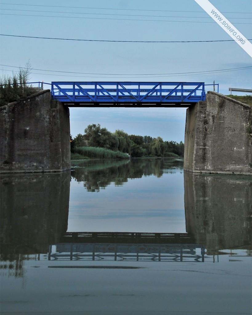 Sombor i okolina - Svitanje pred Dora mostom u Bezdanu (V.B. kanal) - foto dana - 17.7.2019.