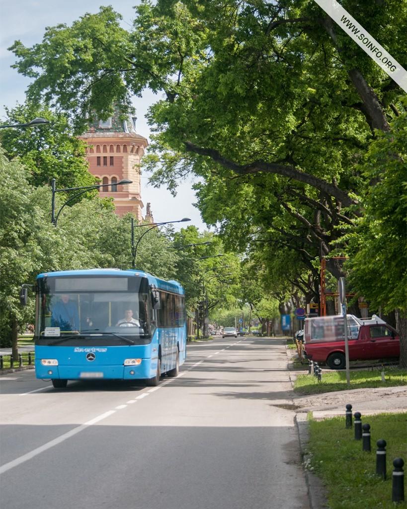 Sombor - Pogled na Staparski put - foto dana - 19.7.2019.