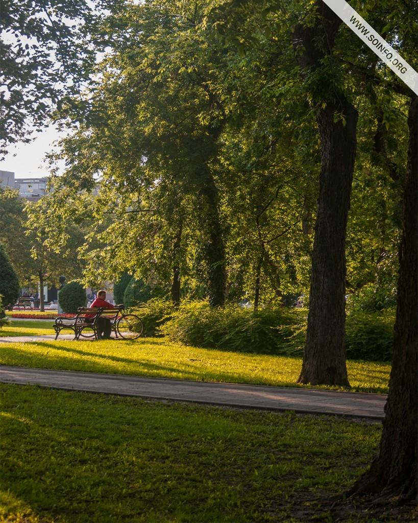 Sombor - Scena iz Parka heroja - foto dana - 21.7.2019.