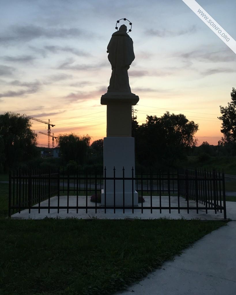 Sombor i okolina: Spomenik Sv. Ivan Nepomuki u Bezdanu (1764.) - foto dana - 31.7.2019.