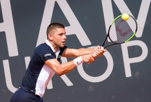 Filip Krajinović - atp 250 Metz (Live Tennis)
