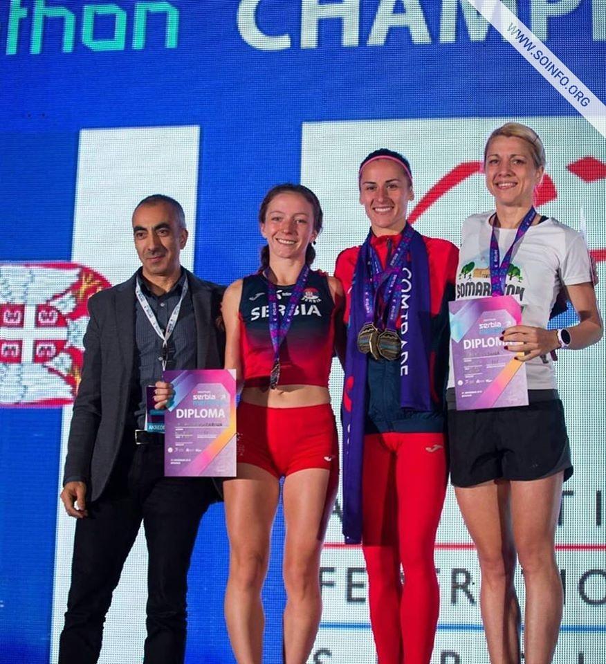 Tijana Kabić, trećeplasirana na državnom prvenstvu u maratonu
