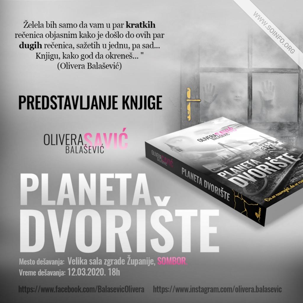 """""""Planeta dvorište"""" Olivera Balašević"""