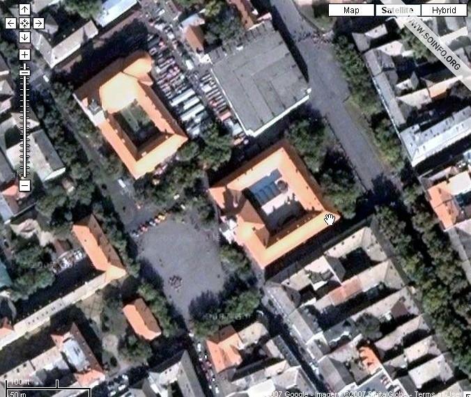 """mapa novog sada satelitski snimak SOinfo.– Sombor 24/7   Vest   """"Gugl"""" snimio Sombor! mapa novog sada satelitski snimak"""