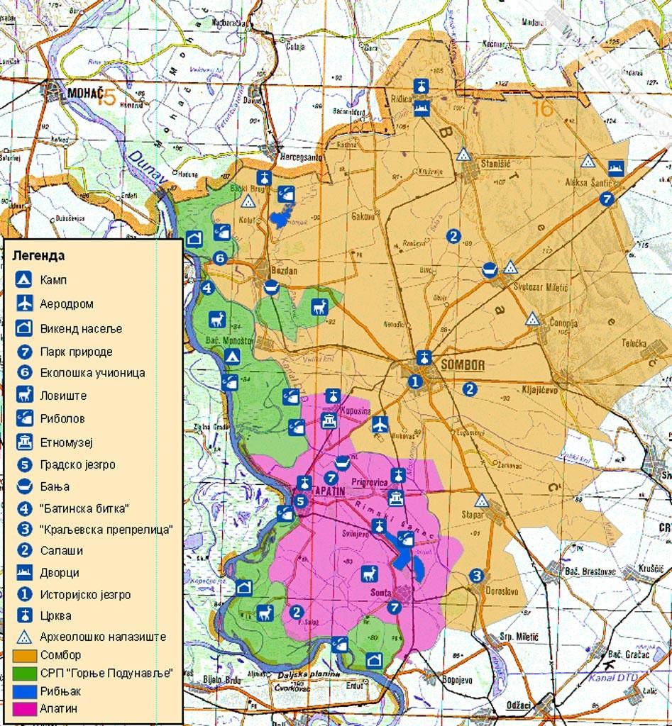 mapa sombora SOinfo.– Sombor 24/7   Vesti mapa sombora
