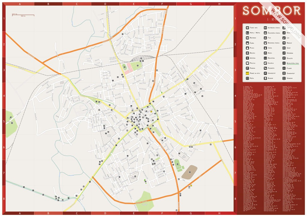 mapa sombora SOinfo.– Sombor 24/7   Vesti   Turizam mapa sombora